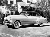 Pontiac Chieftain Deluxe Eight 4-door Sedan (2569D) 1950 pictures