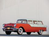 Pontiac Chieftain Station Wagon 1955 wallpapers