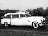 Pontiac Chieftain Guardian Ambulance by Superior 1953 wallpapers