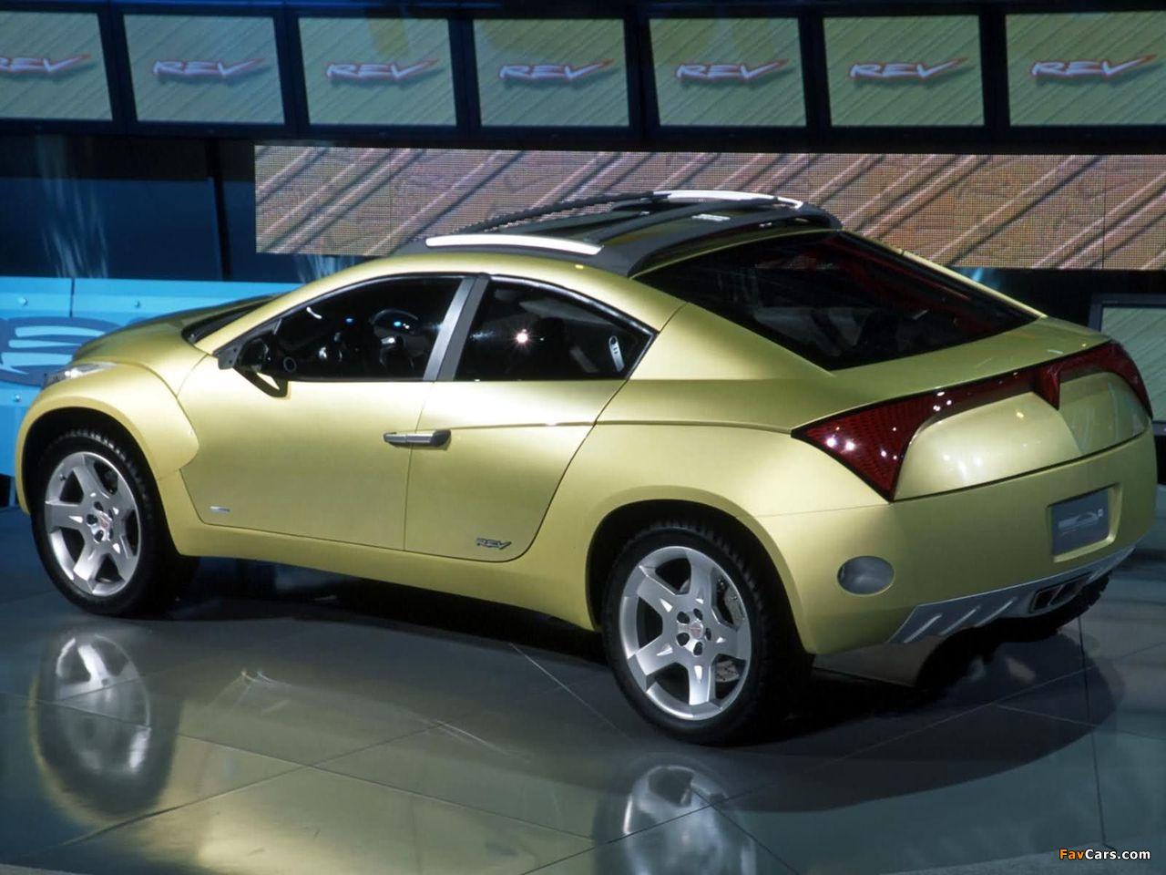 Images of Pontiac REV Concept 2001 (1280 x 960)