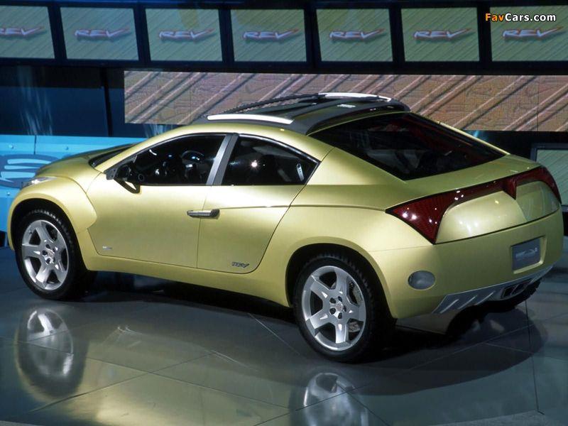 Images of Pontiac REV Concept 2001 (800 x 600)