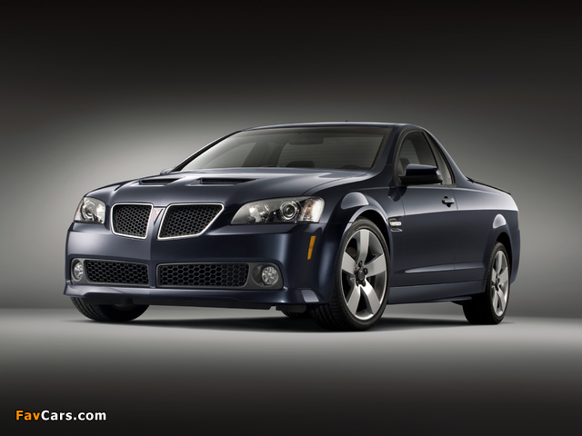 Pictures of Pontiac G8 Sport Truck 2009 (640 x 480)