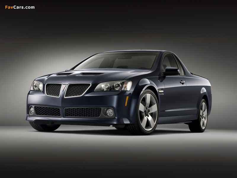 Pictures of Pontiac G8 Sport Truck 2009 (800 x 600)