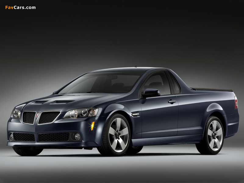 Pontiac G8 Sport Truck 2009 wallpapers (800 x 600)