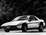 Photos of Pontiac Fiero 1984–88