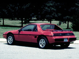 Pontiac Fiero 1984–88 photos