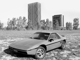 Pontiac Fiero 1984–88 pictures