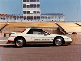 Pontiac Fiero Indy 500 Pace Car 1984 wallpapers