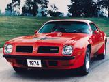 Images of Pontiac Firebird Trans Am Super Duty 1972–74
