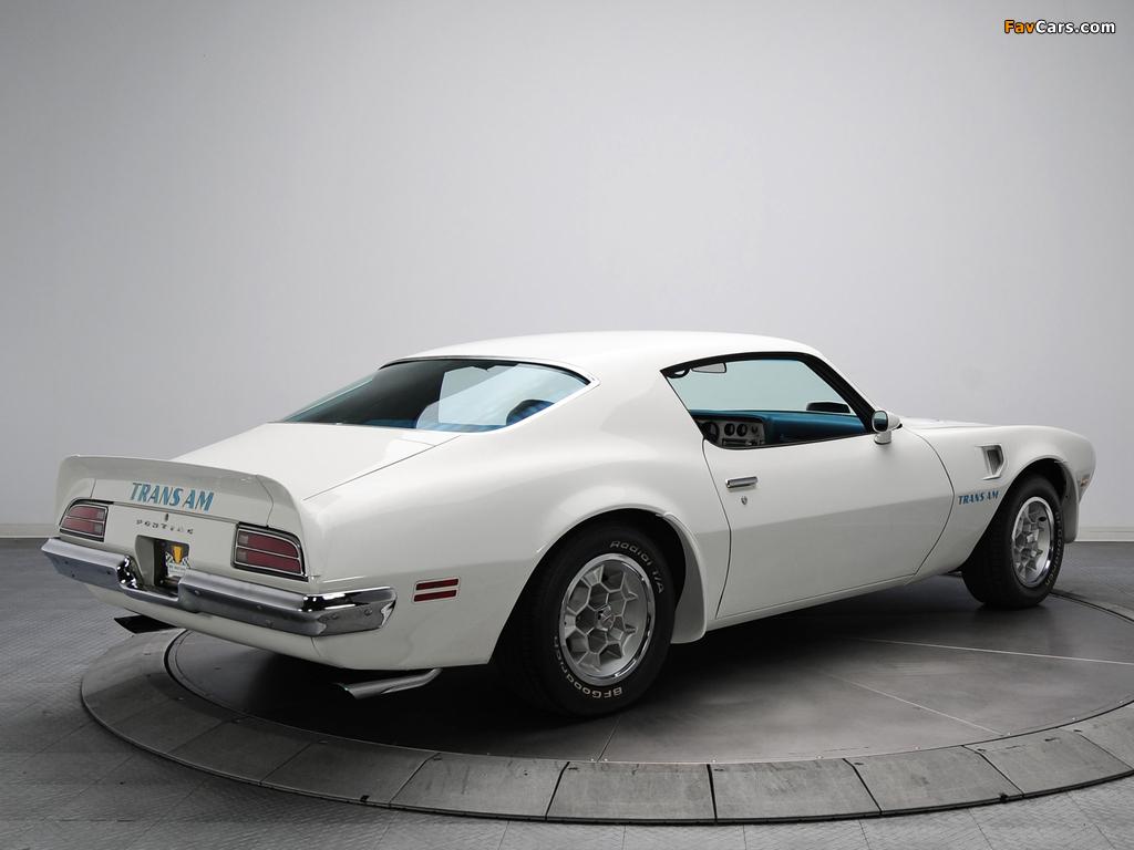 Images of Pontiac Firebird Trans Am (V87) 1973 (1024 x 768)