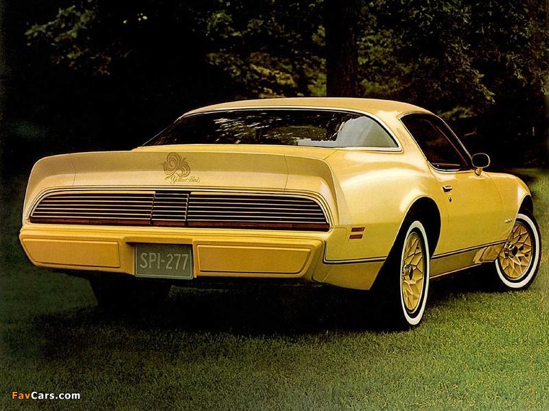 Images of Pontiac Firebird Esprit Yellowbird 1980 (800 x 600)
