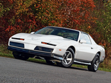 Photos of Pontiac Firebird Trans Am 1983–85