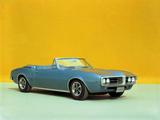 Pictures of Pontiac Firebird Convertible 1967