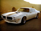 Pictures of Pontiac Firebird Trans Am 1970–73