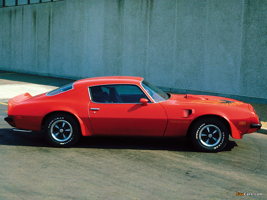 Pictures of Pontiac Firebird Trans Am 1974 (1024 x 768)