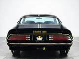 Pictures of Pontiac Firebird Trans Am T/A 6.6 W72 Black Special Edition 1978