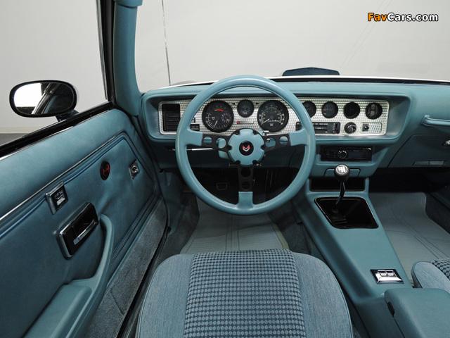 Pictures of Pontiac Firebird Trans Am T/A 6.6 L78 1979 (640 x 480)