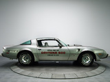 Pictures of Pontiac Firebird Trans Am T/A 6.6 L78 10th Anniversary Daytona 500 Pace Car 1979