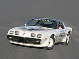 Pictures of Pontiac Firebird Trans Am Turbo Pace Car 1981