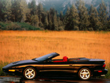 Pictures of Pontiac Firebird Convertible 1993–97