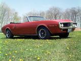 Pontiac Firebird Convertible 1967 images