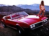 Pontiac Firebird Convertible 1967 pictures