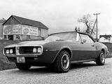 Pontiac Firebird Convertible 1967 wallpapers