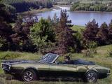 Pontiac Firebird Sprint Convertible (2367) 1968 images