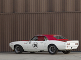 Pontiac Firebird Trans Am Race Car (7L141852) 1968 wallpapers