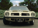 Pontiac Firebird Formula 1974 pictures