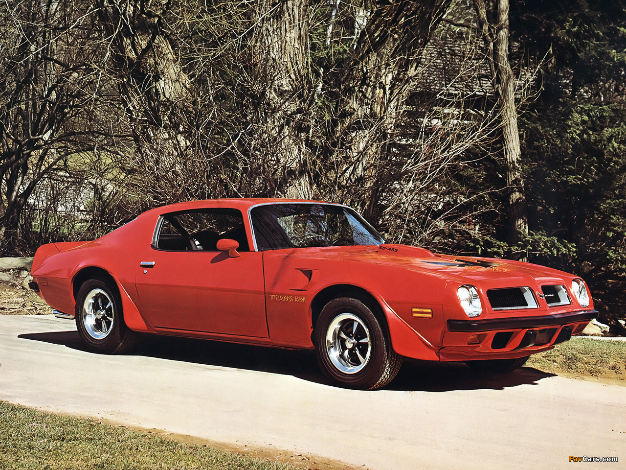 Pontiac Firebird Trans Am 1974 wallpapers (1280 x 960)