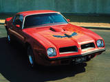 Pontiac Firebird Trans Am 1974 wallpapers