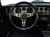 Pontiac Firebird Trans Am T/A 6.6 W72 Black Special Edition 1978 images