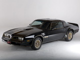 Pontiac Firebird Trans Am T/A 6.6 W72 Black Special Edition 1978 photos