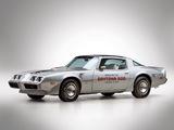 Pontiac Firebird Trans Am T/A 6.6 L78 10th Anniversary Daytona 500 Pace Car 1979 photos