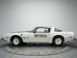 Pontiac Firebird Trans Am Turbo Indy 500 Pace Car 1980 photos