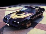 Pontiac Firebird Trans Am Turbo Black & Gold Special Edition 1980–81 photos