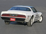 Pontiac Firebird Trans Am Turbo Pace Car 1981 images
