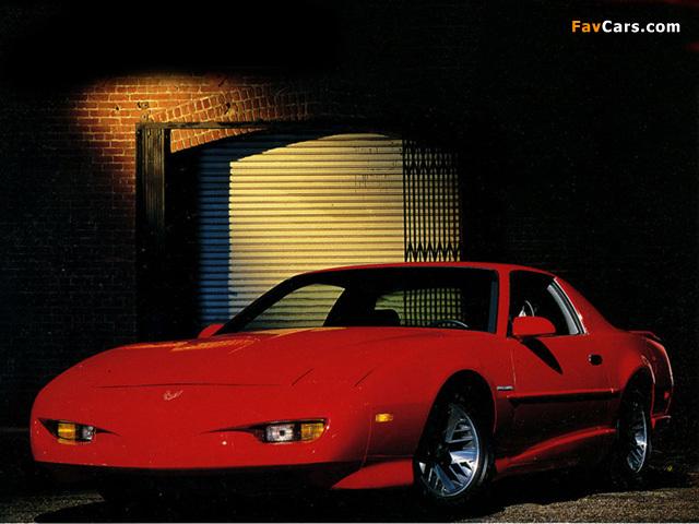 Pontiac Firebird 1991–92 wallpapers (640 x 480)