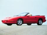Pontiac Firebird Convertible 1993–97 images