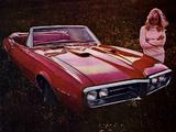 Pontiac Firebird Convertible 1967 wallpapers