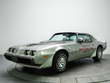 Pontiac Firebird Trans Am T/A 6.6 L78 10th Anniversary Daytona 500 Pace Car 1979 wallpapers