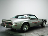 Pontiac Firebird Trans Am T/A 6.6 L78 10th Anniversary Daytona 500 Pace Car 1979 wallpapers