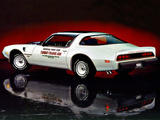Pontiac Firebird Trans Am Turbo Indy 500 Pace Car 1980 wallpapers