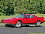 Pontiac Firebird Supercharged 350 VHO Formula by Carroll Supercharging 1988 wallpapers