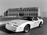 Pontiac Firebird Trans Am Turbo 20th Anniversary Indy 500 Pace Car 1989 wallpapers