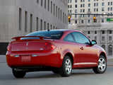 Pontiac G5 XFE 2008–09 pictures