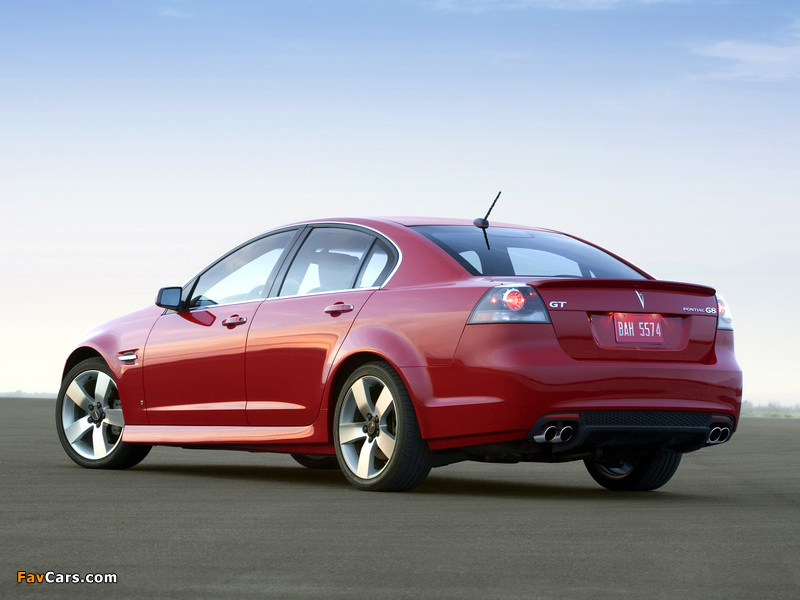 Pictures of Pontiac G8 GT 2008–09 (800 x 600)