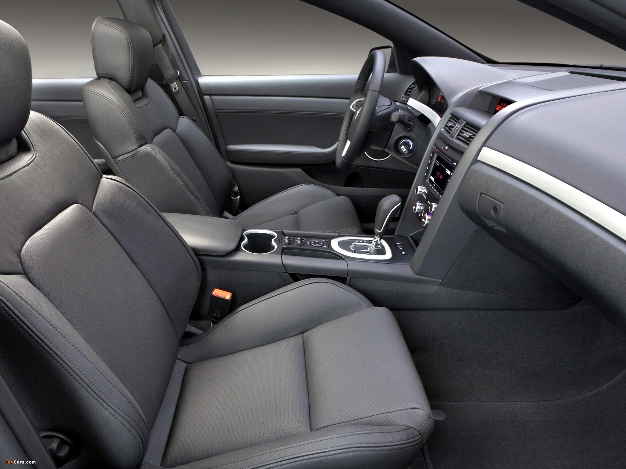 Pontiac G8 GT 2008–09 pictures (2048 x 1536)