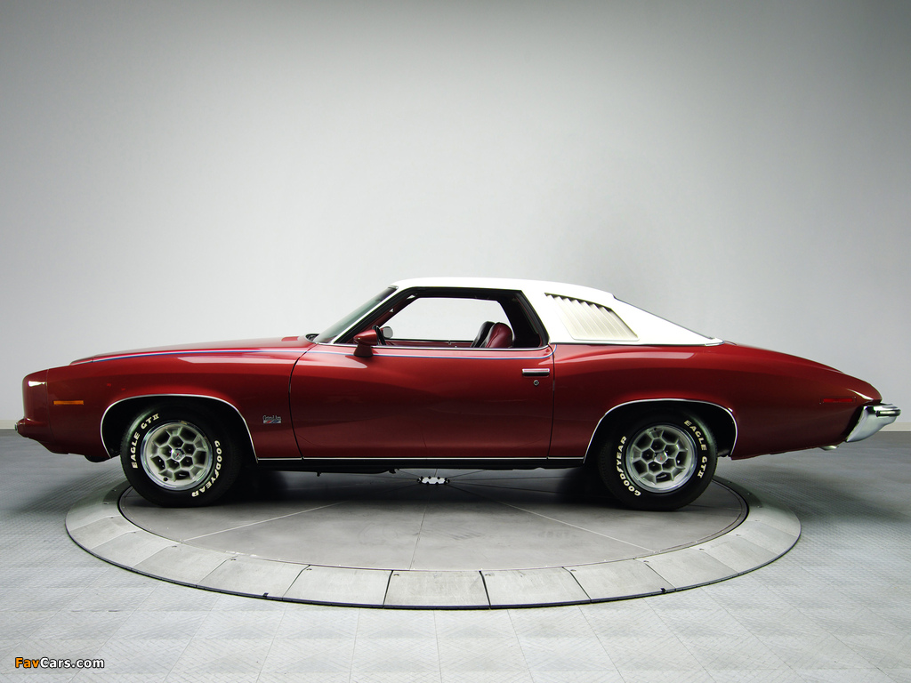 Images of Pontiac Grand Am Solonnade Hardtop Coupe (H37) 1973 (1024 x 768)